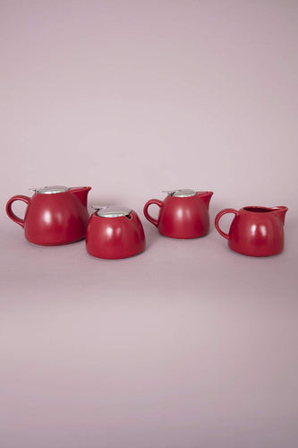 Carraig Donn HOME Tea Pots Small Leib Teapot in Red