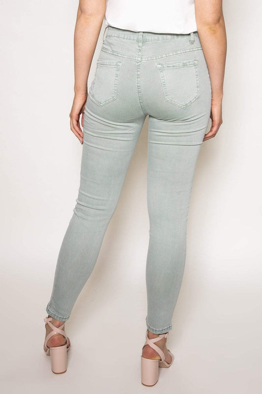 Rowen Avenue Jeans Soft Touch Denim Jeans in Mint