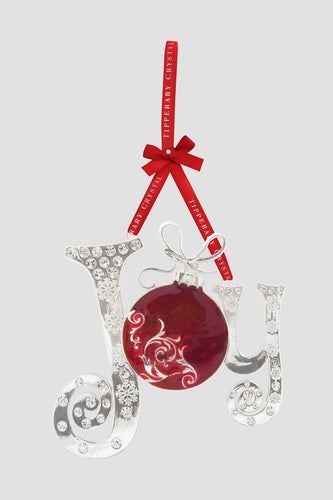 Tipperary Crystal Gift Christmas Tree Decorations Sparkle Joy Decoration Gift Box