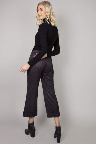 Pala D'oro Trousers Spot Trousers in Black