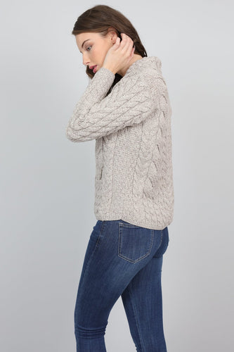 Aran Woollen Mills Cardigans Supersoft Merino Wool Womens Cardigan
