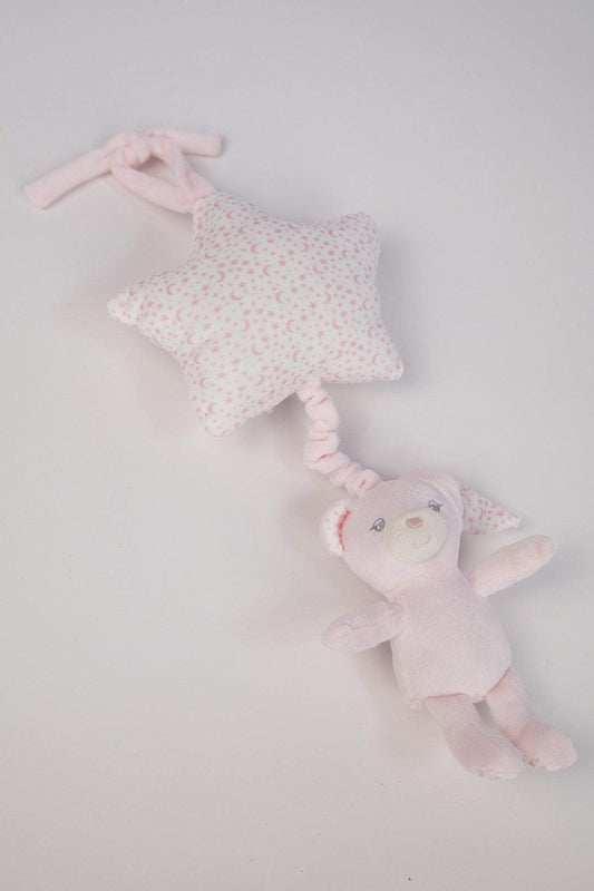 Carraig Donn HOME Chime Teddy Music Chime in Pink