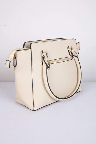 SOUL Accessories Bags Beige The Abby Handbag in Beige