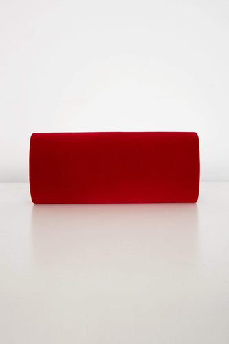 SOUL Accessories Bags Red The Anna Clutch in Red