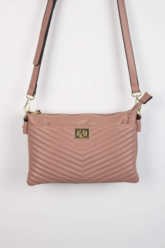 Pala D'oro Accessories Bags Rose The Aoife Handbag in Rose