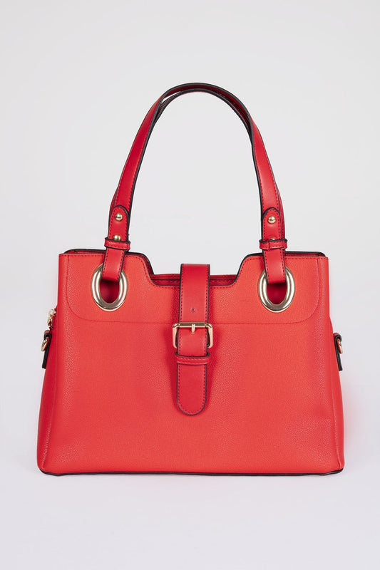 SOUL Accessories Bags Red The Barbara Handbag in Red
