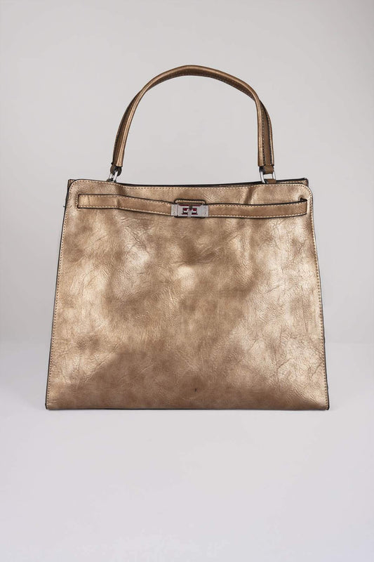 SOUL Accessories Bags Gold The Bella Handbag in Gold