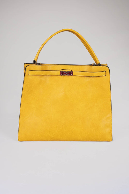SOUL Accessories Bags Yellow The Bella Handbag in Yellow