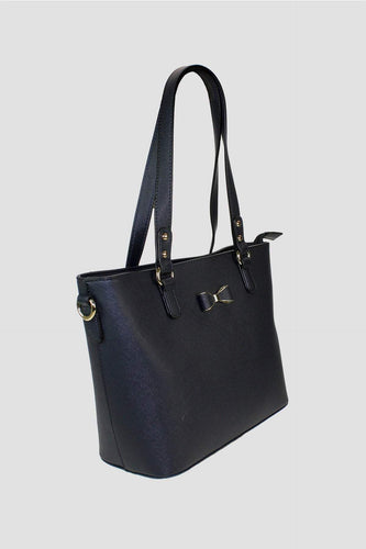 Pala D'oro Accessories Bags Navy The Bow Tote bag in Navy