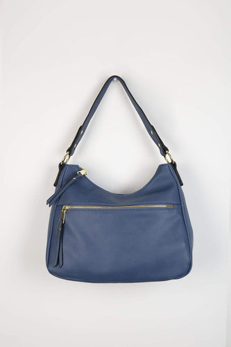 Pala D'oro Accessories Bags Navy The Gabriela Handbag in Navy