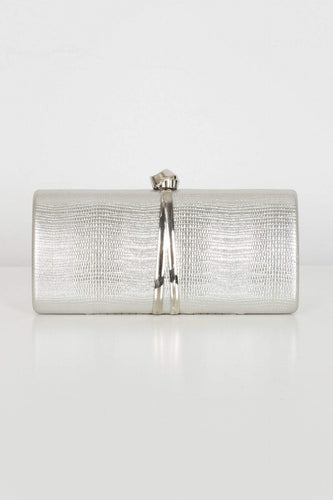 SOUL Accessories Bags Silver The Lisa Clutch in Silver