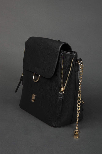 Tipperary Crystal Bags Bags Black The Messina Backpack in Black