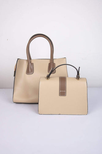 SOUL Accessories Bags Beige The Naomi 2 in 1 Bag in Taupe