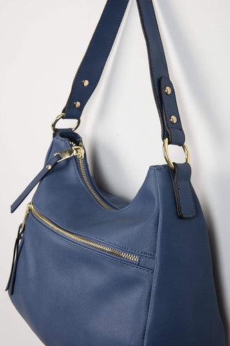 Pala D'oro Accessories Bags Navy The Orla Handbag in Navy