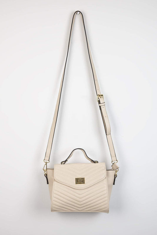Pala D'oro Accessories Bags Beige The Vanessa Handbag in Beige