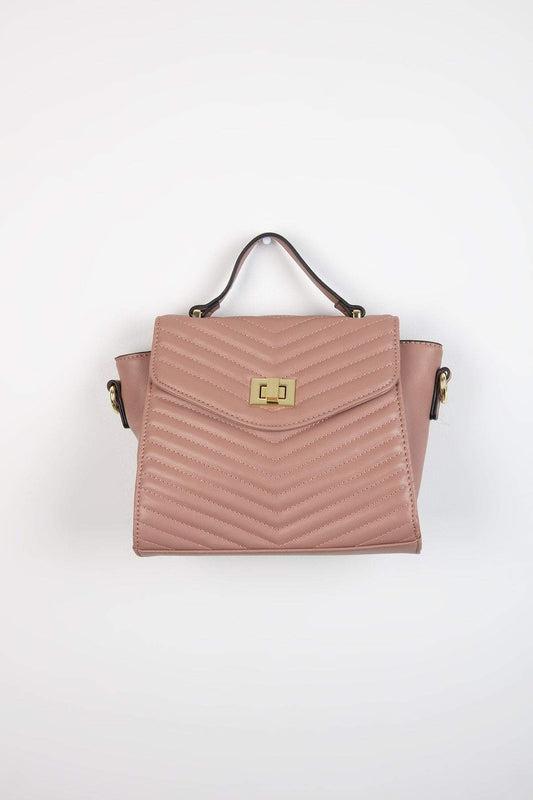 Pala D'oro Accessories Bags Rose The Vanessa Handbag in Rose