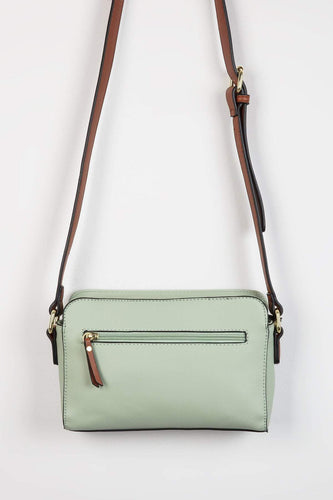Pala D'oro Accessories Bags Mint The Zoe Handbag in Mint