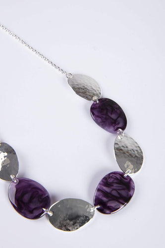 Knight & Day Necklaces Silver Thea Amethyst Necklace