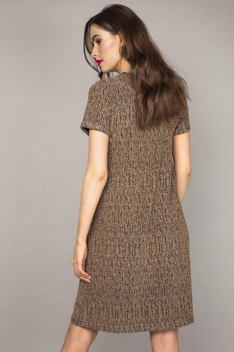 J'aime la Vie Dresses Tunic Dress in Gold