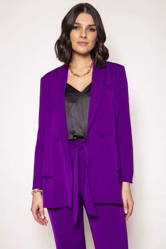 Amor Vitae Suits Two Piece Suit in Purple
