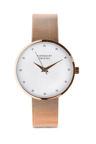 Tipperary Crystal Jewellery Watches Ultimito Rose Gold Watch