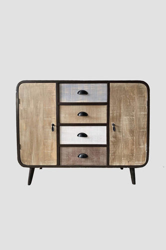 Carraig Donn HOME Drawers Brown Urban Chic Sideboard