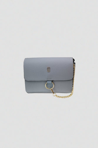 Tipperary Crystal Bags Bags Grey Verona Shoulder Bag with Chain in Grey