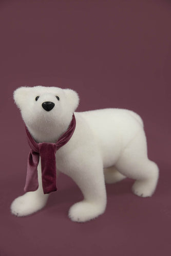 Carraig Donn HOME - Christmas Christmas Decorations White Bear Standing