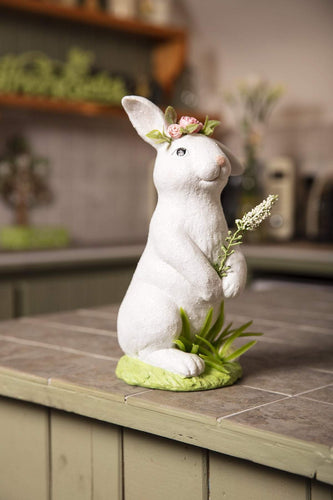Carraig Donn HOME Easter Ornaments White Bunny Standing