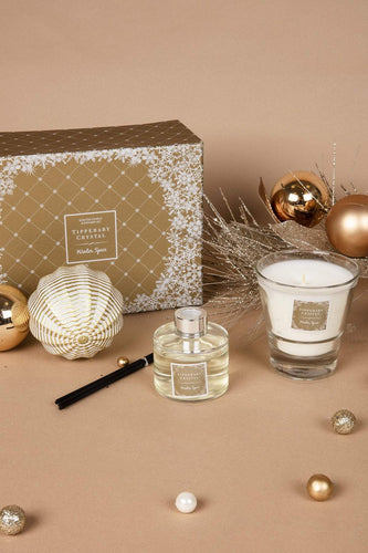 Tipperary Crystal Gift Christmas Candles & Diffusers Winter Spice Candle & Diffuser Set