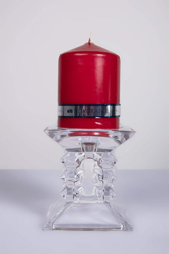 Newgrange Candle Holders Zorro Red Pillar Candleholder