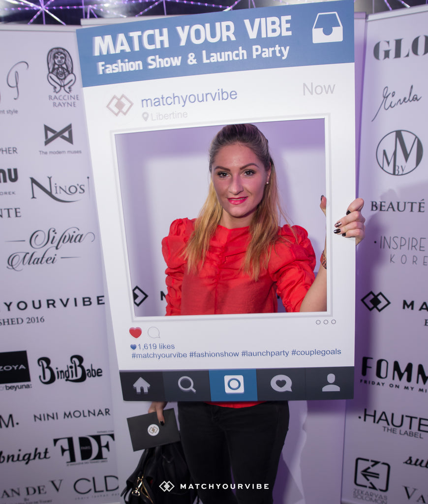 Match Your Vibe Fashion Show & Launch Party!