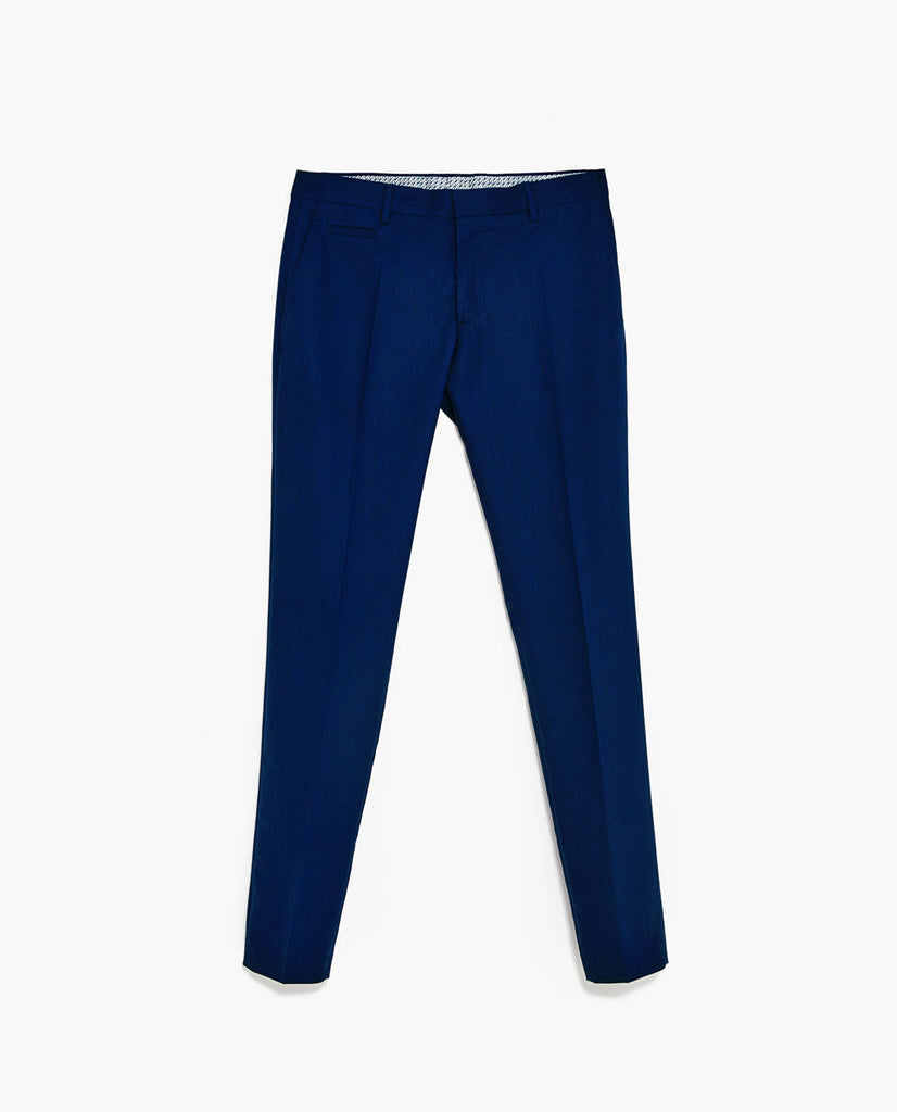 Ink Blue Classic Suit Trousers