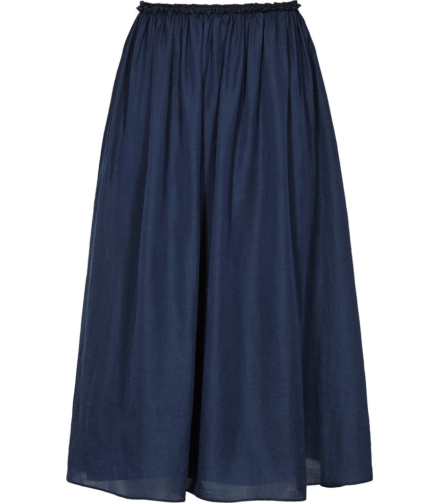 Alissa Gathered Midi Skirt