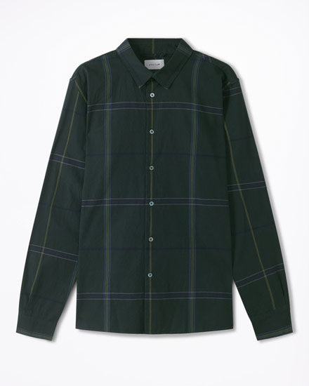 Italian Large Scale Check Shirt