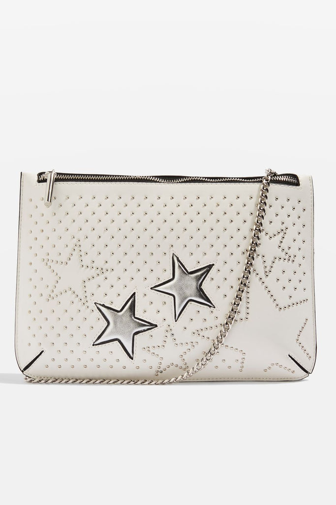 Madonna Star Stud Clutch Bag