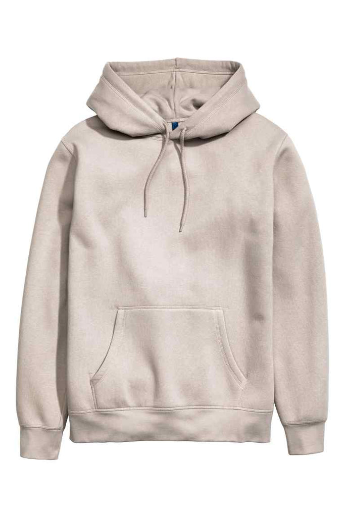 Hooded top with raglan sleeves (beige)