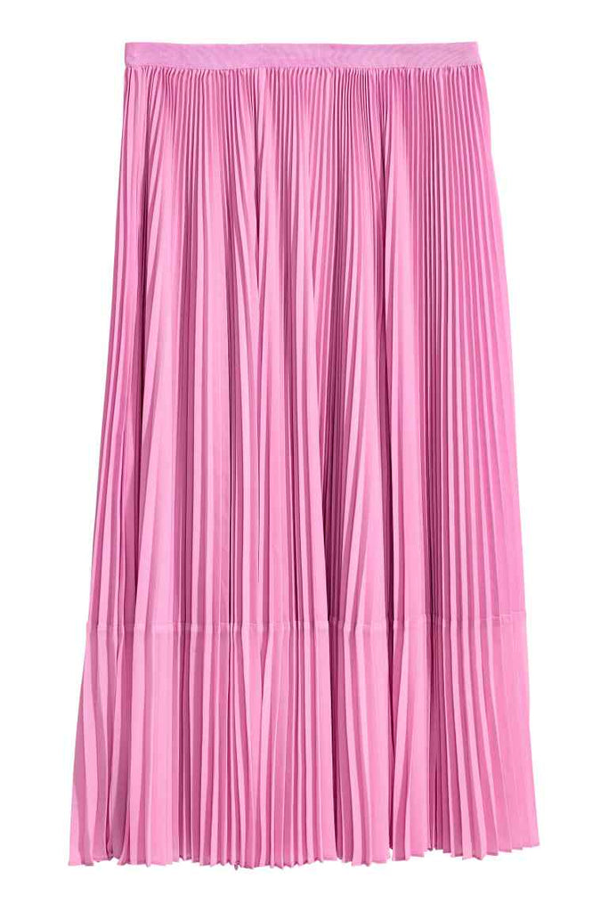 Copy of Pleated skirt pink
