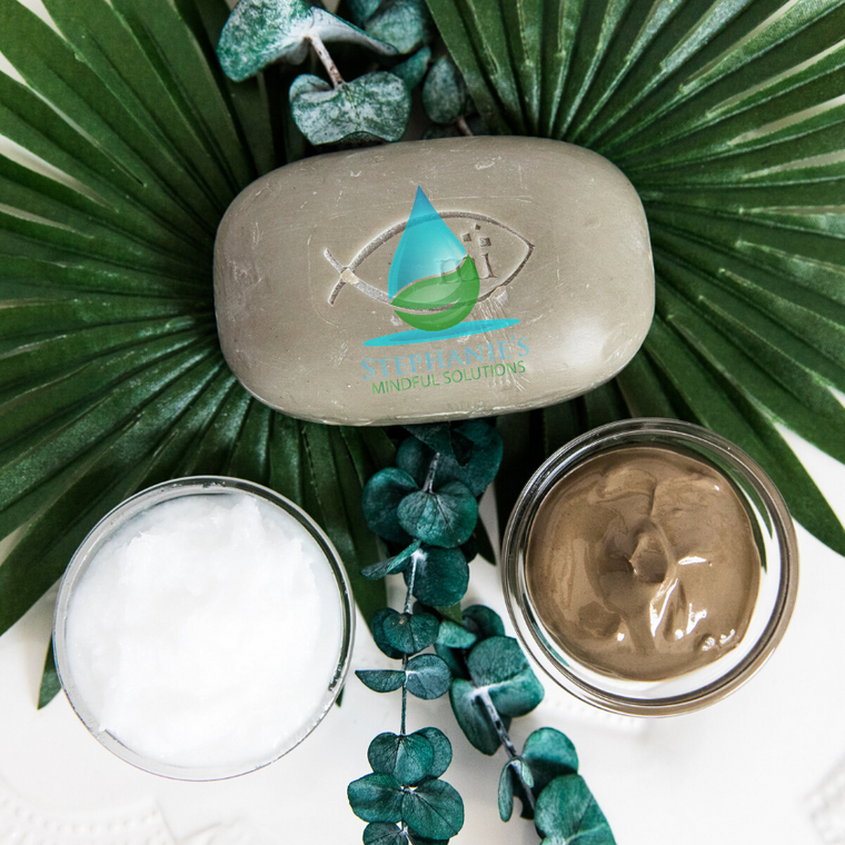 Dead Sea Mineral Bar (Mud & Eucalyptus) - Get Dirty - MMNT LLC – Mindful Minerals North Texas