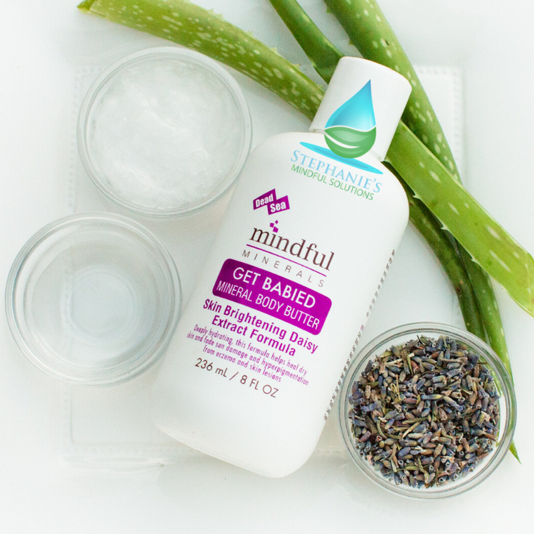Dead Sea Body Butter - Lavendar - MMNT LLC – Mindful Minerals North Texas