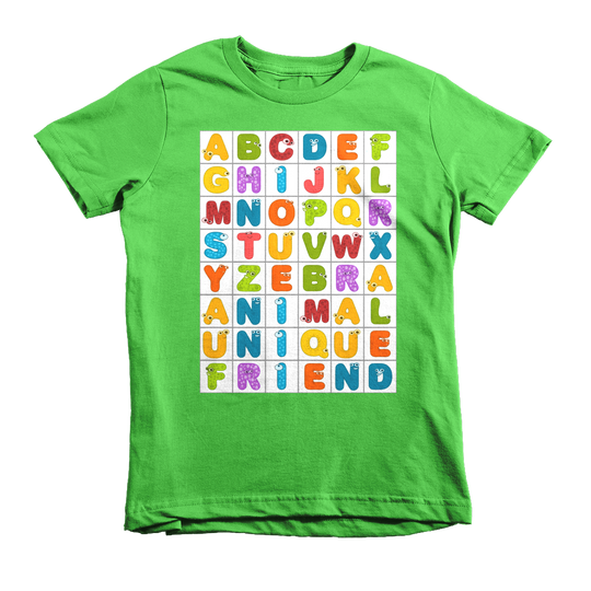 Alphabet Eyes | children's t-shirt
