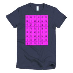 Alphabet Blocks | women's t-shirt