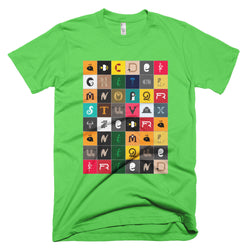 Animal Alphabet | men's t-shirt