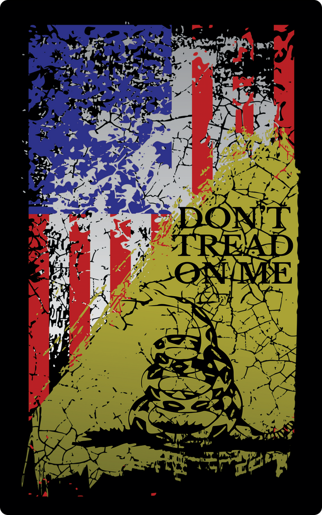 Don't Tread on Me Sticker-Uncle Judds