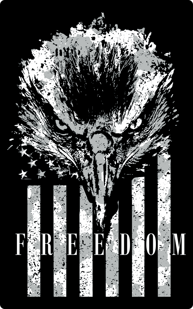 Freedom Eagle Sticker-Uncle Judds