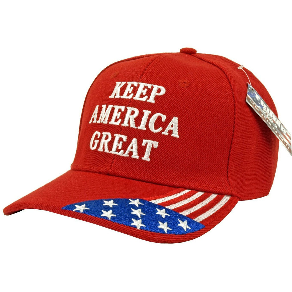 Keep America Great with Flag Trucker Hat-Uncle Judds