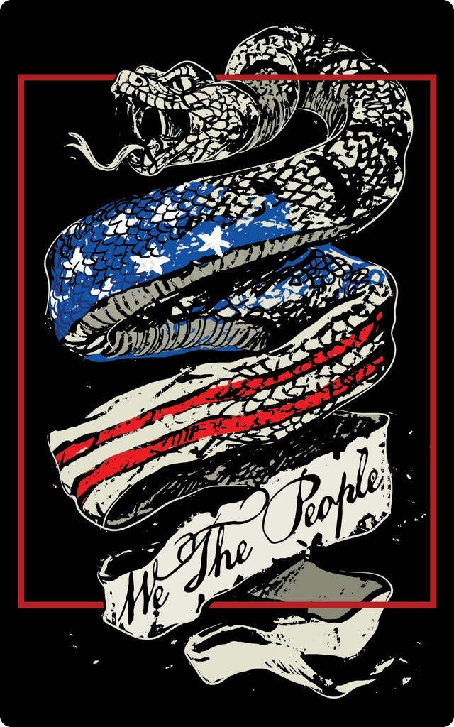 We The People Sticker-Uncle Judds