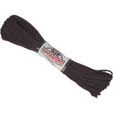 Spider Cord 600 Lb Paracord 100 Ft - Black, Cardinal Red And Gray Design