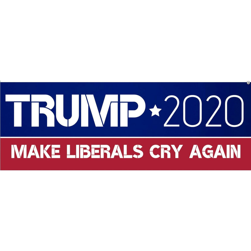 Trump 2020 Make Liberals Cry Sticker-Uncle Judds
