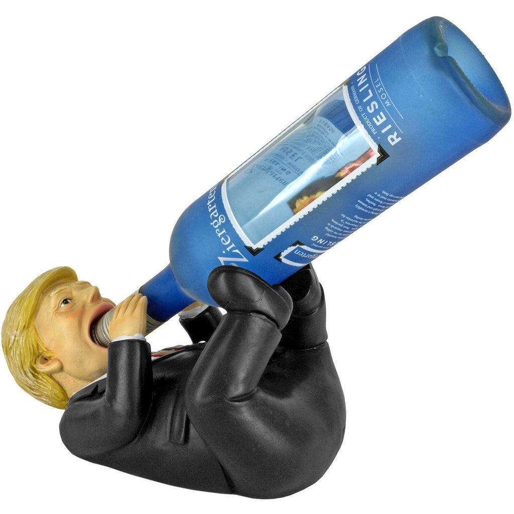Trump Wine Bottle Holder-Uncle Judds